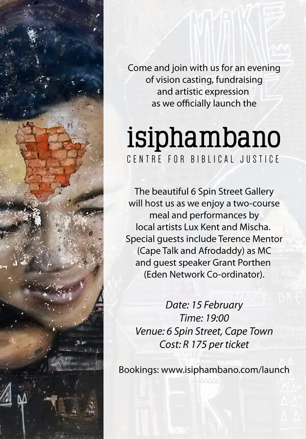 Isiphambano Invitation